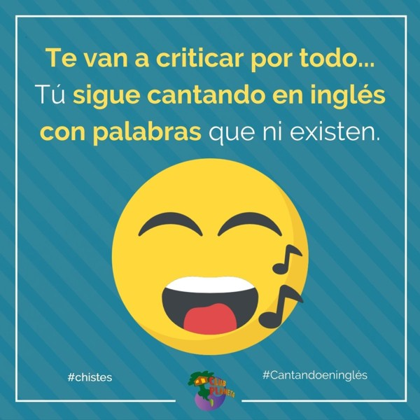 cantando en inglés