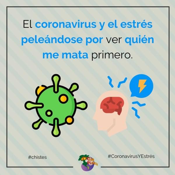 coronavirus y estrés