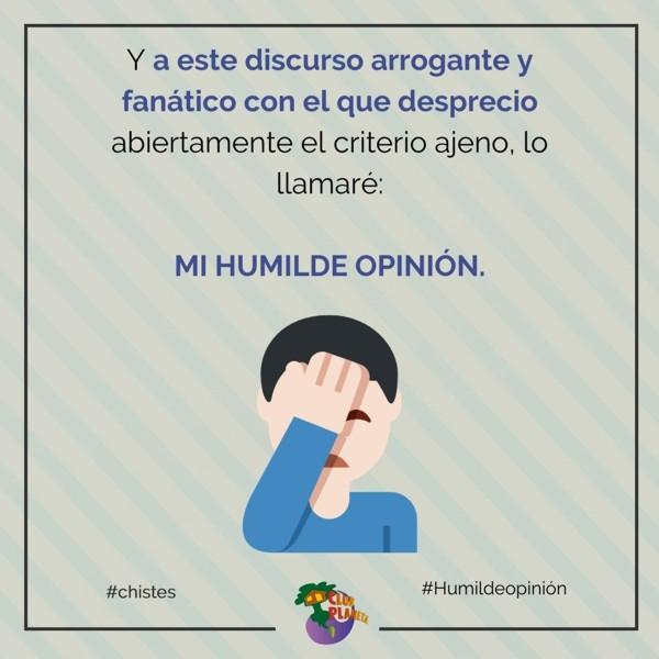 humilde opinion