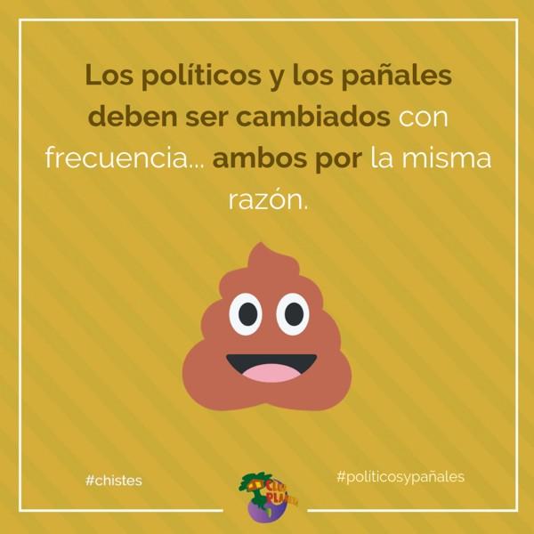 políticos y pañales