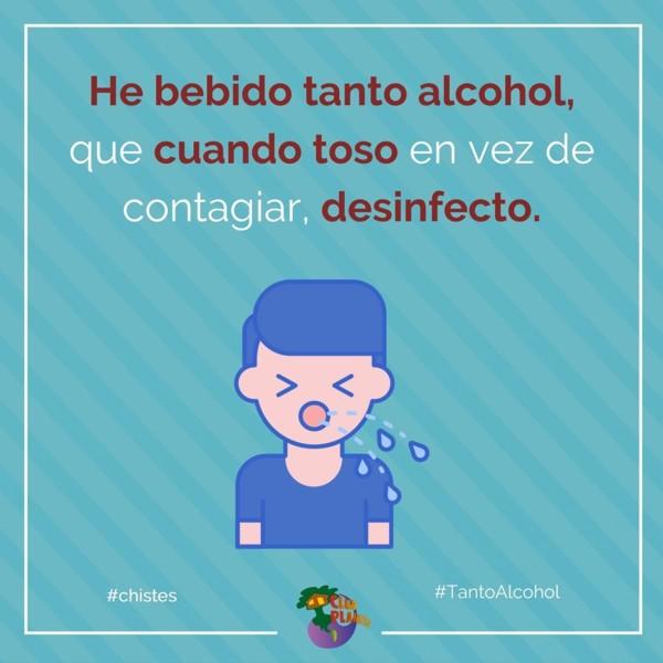tanto alcohol