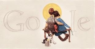 aniversario del nacimiento de norman rockwell © 1926 seps curtis publishing