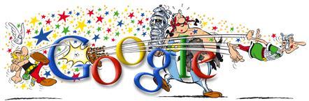 Asterix y Obelix en Google