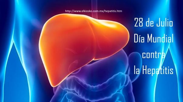 28 de Julio, Dia Mundial contra la Hepatitis