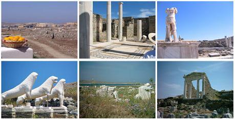 isla griega delos