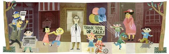 100 aniversario del nacimiento de jonas salk