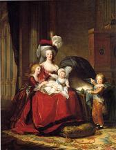 Maria Antonieta y sus hijos