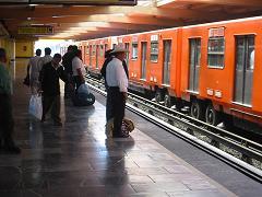 El Metro en la ciudad de México