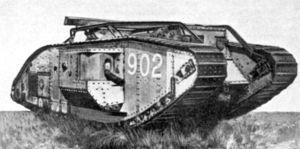 tanque, invento para la guerra
