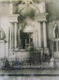 antiguo altar de nuestra señora del carmen, tlalpujahua
