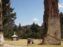 ruinas del antiguo santuario de nuestra señora del carmen, tlalpujahua