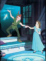 wendy y peter pan